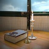 Símbolos cristianos Foto de archivo libre de regalías