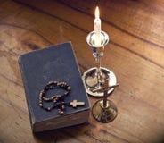 Símbolos cristianos Foto de archivo