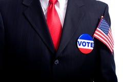 Símbolos da eleição Imagens de Stock
