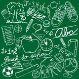 Símbolos da escola Imagens de Stock