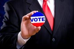 Símbolos de la elección Imagen de archivo