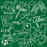 Símbolos de la escuela Imagenes de archivo