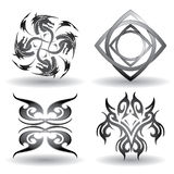 Símbolos de Tatoo - super renda Fotografia de Stock Royalty Free