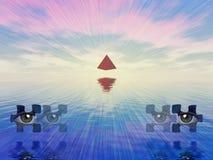Símbolos místicos Fotos de archivo libres de regalías