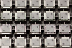 SMD integrated circuits Royalty Free Stock Image