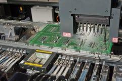 SMD, SMT montażu narzędzia głowa Fotografia Stock