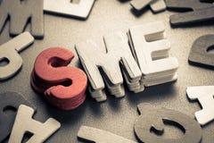 SME imagem de stock