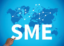 SME or Small and medium-sized enterprises Stock Photography