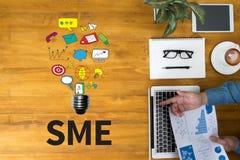 SME or Small and medium-sized enterprises Royalty Free Stock Photos