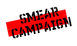 Smear Campaign rubber stamp Stock Photos