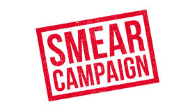 Smear Campaign rubber stamp Royalty Free Stock Image