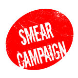 Smear Campaign rubber stamp Stock Photography