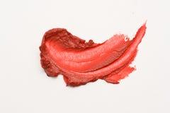 Smear lipstick Stock Photos