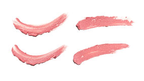 Smear paint of cosmetic and beauty products Stock Photography