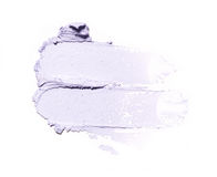 Smear paint of cosmetic and beauty products Royalty Free Stock Photo