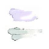 Smear paint of cosmetic and beauty products Stock Photo