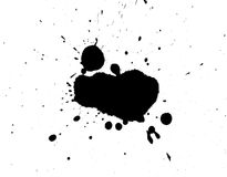 The smeared blots. Royalty Free Stock Photos