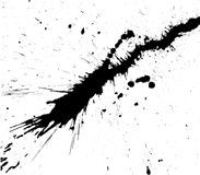 The smeared blots. Royalty Free Stock Photo