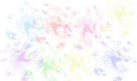 Smeared Colors. Smeared or blurred color illustration Stock Photo