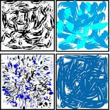 smears blots a variety of backgrounds and substrates stock image