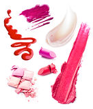 Smears of cosmetics Royalty Free Stock Image