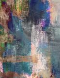 Smeary Abstract Brushed Painted Grunge Background Textile Stock Photos