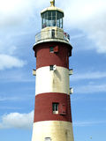 Smeaton's Lighthouse, Plymouth Hoe, Devon. A centrepiece on Plymouth's Hoe, Smeaton's Tower has become one of the South West's most well known landmarks. The Royalty Free Stock Photos