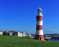 Smeaton's Tower Lighthouse Royalty Free Stock Images
