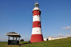 Smeaton's Tower, Plymouth, UK. The Smeaton's Tower in Plymouth, UK Royalty Free Stock Photos