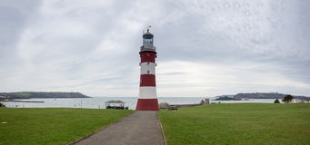 Smeatons Lighthouse Tower Plymouth Royalty Free Stock Images