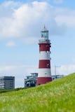 Smeatons tornfyr på den Plymouth hackan Royaltyfri Foto
