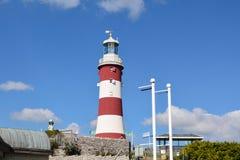Smeatons tornfyr på den Plymouth hackan Royaltyfria Bilder