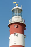 Smeatons Tower lighthouse on Plymouth Hoe Royalty Free Stock Photos