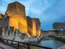 Smederevo fortress bridge view Stock Photos
