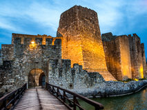 Smederevo fortress entrance Stock Photography