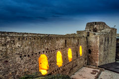 Smederevo fortress inside Stock Image