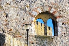 The Smederevo fortress Stock Image