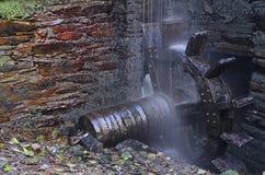 Smedja för vattenhjul. arkivbilder