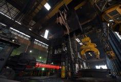 Smeedstukmateriaal voor roestvrij staal Royalty-vrije Stock Afbeeldingen
