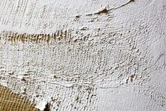 smeer de grond op het canvas textuur voor kunstenaars stock fotografie