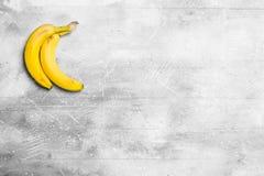 The smell of fresh bananas royalty free stock photos