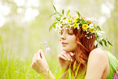 Smell of spring Royalty Free Stock Photography