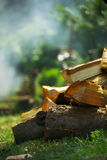 The smell of wood Royalty Free Stock Images