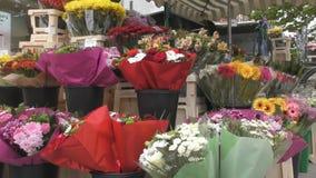 smellcomp магазина иллюстрации цветка Букеты и цветочные горшки сток-видео