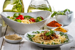 Smells of Italian cuisine Royalty Free Stock Images