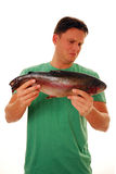 Smelly fish Stock Image