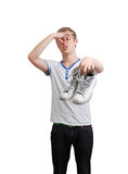 Smelly shoes Royalty Free Stock Photography
