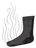 Smelly sock Royalty Free Stock Image