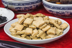 Smelly tofu Royalty Free Stock Image