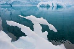 Smeltend ijs royalty-vrije stock foto
